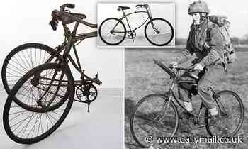 Rare folding bicycle carried by British paratroopers on D-Day up for auction for £8,000