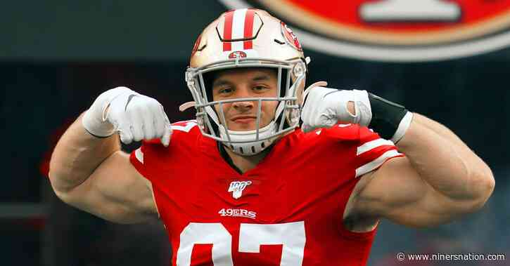 Where oddsmakers set 49ers' over/under win total for 2021 season