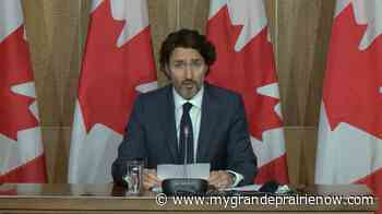 """Prime Minister Trudeau says """"one-dose summer"""" could lead to a """"two-dose fall"""""""