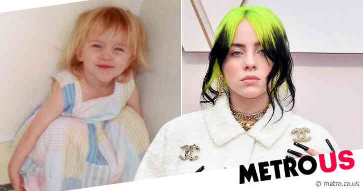 Billie Eilish reveals never-before-seen childhood snaps as she releases new book