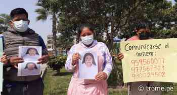 Santa Anita: Reina del ajo ofrece recompensa por abuelita desaparecida - Diario Trome