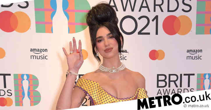 Brit Awards 2021: Dua Lipa stuns on red carpet as she leads celebs arriving for star-studded show