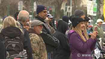 Manitoba fines nearly 3 dozen attendees of anti-mask, anti-lockdown rallies