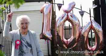 Wideopen great grandma turns 100 - and puts long life down to golf