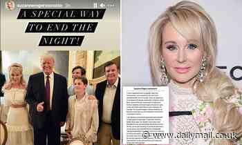 Canada's 'Fashion Fairy Godmother' is canceled after posing with Trump at Mar-a-Lago
