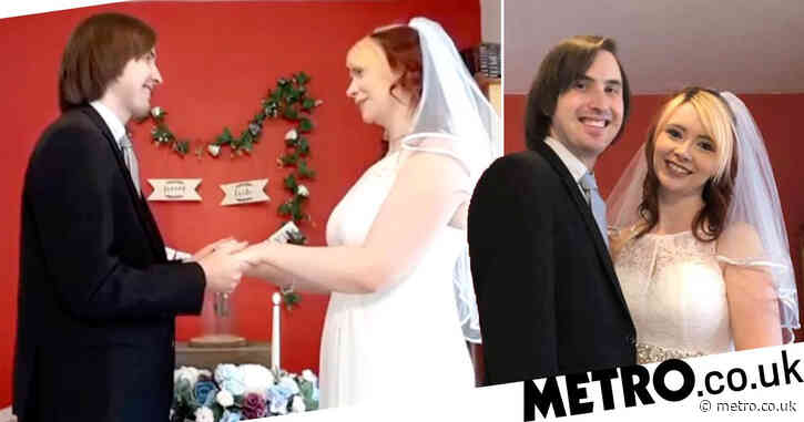Unluckiest bride in Britain finally gets married after seven Covid cancellations