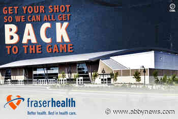 Fraser Valley Bandits team with Fraser Health to encourage vaccination