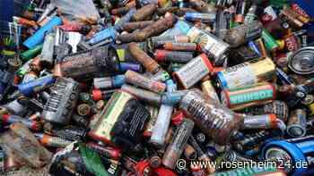 Warnung im Wasserburger Umweltausschuss: Batterien im Restmüll sind brandgefährlich