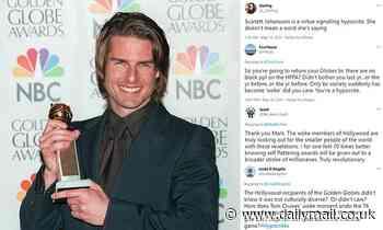 Golden Globes: NBC and Hollywood stars slammed for 'woke virtue signaling' over HPFAs diversity