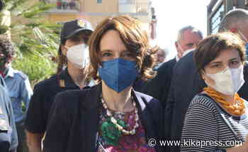 Il ministro Elena Bonetti a Ercolano - Foto - Kikapress.com - Kikapress