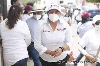 Karina Pérez Popoca reafirma su compromiso con la gente de Tlaxcalancingo - Municipios Puebla