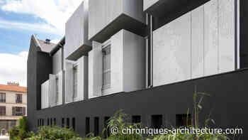 Le Lavoir numérique, à Gentilly, où les bains-douches revus par ARTEO - Chroniques d'architecture