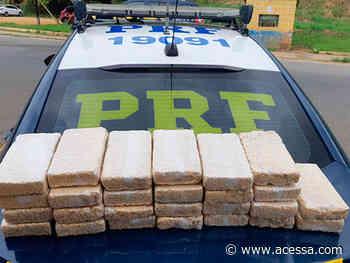 PRF apreende 26 quilos de crack escondidos em automóvel em Leopoldina - Portal ACESSA.com
