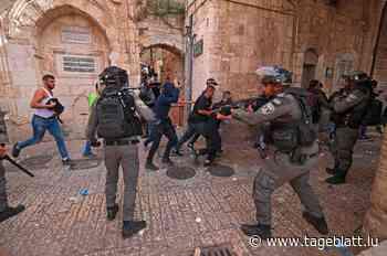 """Gewalt in Jerusalem hält an / Jean Asselborn: """"Wirklich frustrierend für viele Menschen in Palästina"""" - Tageblatt online"""