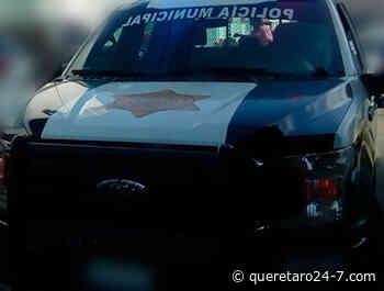 Aprehendido por daño a propiedad ajena en Vista Alegre - Querétaro 24-7