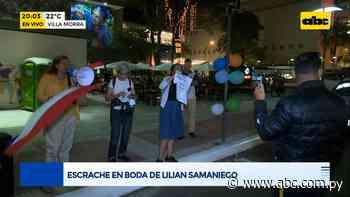 Escrache en boda de Lilian Samaniego - Periodísticamente - ABC Color