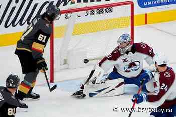 West-side story: Avs have shot to take division over Knights