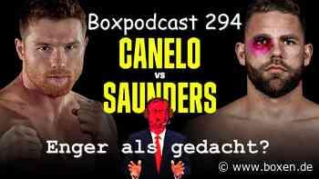 Boxpodcast 294 – Saul Canelo Alvarez vs. Billy Joe Saunders: Enger als gedacht? - Boxen.de