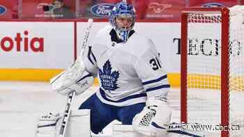 Frederik Andersen to make 1st start in Maple Leafs net since March in Ottawa