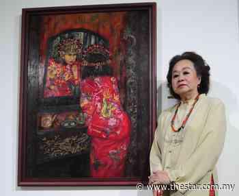 Pioneer Peranakan painter Sylvia Lee Goh dead at 80 - The Star Online