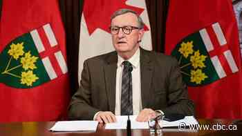 Ontario's chief medical officer of health provides update on AstraZeneca vaccine