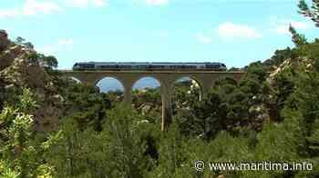 De Miramas à Marseille, le train de la Côte Bleue a fait son retour - Maritima.Info - Maritima.info