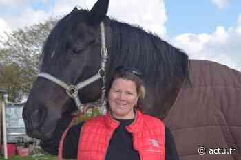 Stéphanie Dubreuil, directrice des Écuries du Mesnil David entre Aumale et Neufchâtel. « J'ai vu les chevaux attristés, le ressenti était impressionnant » - actu.fr