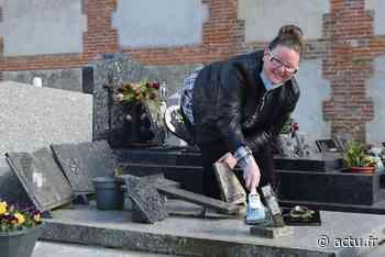 Le Caule-Sainte-Beuve, près d'Aumale. Lætitia nettoie et fleurit les tombes « En votre nom » - actu.fr