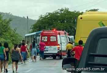 Colisão entre carro e moto deixa um morto em Alagoa Grande, na PB - Portal T5