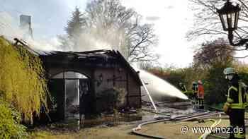 Keine Personen verletzt: 100.000 Euro Schaden bei Scheunenbrand in Wietmarschen - noz.de - Neue Osnabrücker Zeitung