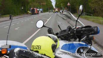 Gasleck in Bad Sassendorf - Vollsperrung auf alter B1 in beiden Richtungen - soester-anzeiger.de