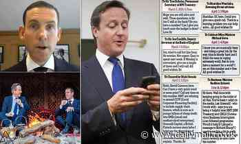 David Cameron's 62 messages to former colleagues pleading for help for Lex Greensill