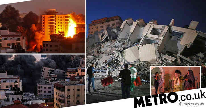 Gaza tower block explodes as 31 people killed in escalating Israel crisis