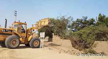 La Libertad: desalojan a invasores de zona arqueológica en Huaca de la Luna - LaRepública.pe