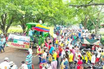 Arroceros y comerciantes se unieron al paro nacional en Campoalegre - Diario del Huila
