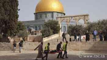 Palestinian, Jewish communities in Winnipeg feel impact of latest conflict in Jerusalem from afar
