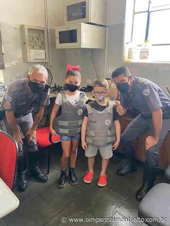 Crianças visitam quartel da Polícia Militar de Monte Alto – Jornal O Imparcial - O Imparcial – Monte Alto