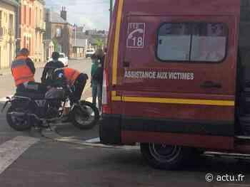 Moto contre auto : un septuagénaire hospitalisé à Flers - actu.fr