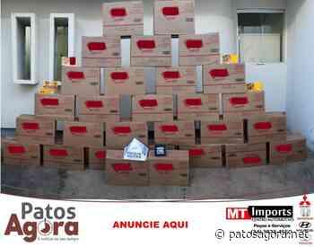 Campos Altos: Ação conjunta recupera 870 caixas de chocolates de carga - Patos Agora