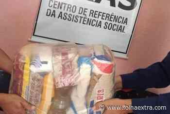 Assistência Social de Arapoti fornece cestas básicas para famílias em dificuldades - Folha Extra