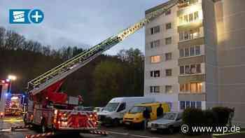 Dreis-Tiefenbach: Großeinsatz wegen Grillparty im Hochhaus - Westfalenpost