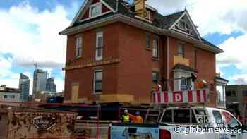 'Beautiful' 123-year-old Calgary home moved as part of redevelopment project