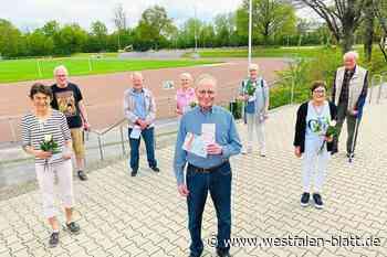 Gemeinde und Sportring Steinhagen vergeben außergewöhnliche Sportabzeichen – auch an Karl-Heinz Thärichen: Mit 82 Jahren ein wahrer Sportsmann - Steinhagen - Westfalen-Blatt