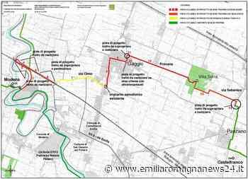 Provincia di Modena: collegamento ciclopedonale Modena Castelfranco Emilia - Emilia Romagna News 24