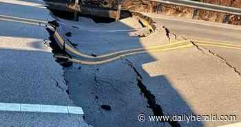 Stearns School Road closed for emergency repair, bridge project