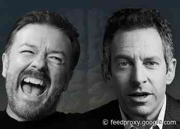Ricky Gervais, Sam Harris Partner For Subscription-Only Podcast