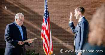 Pileski, new trustees sworn in to office in Roselle