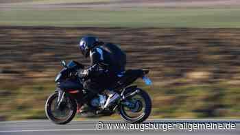 Motorradfahrer verletzt sich bei Neresheim schwer - Augsburger Allgemeine