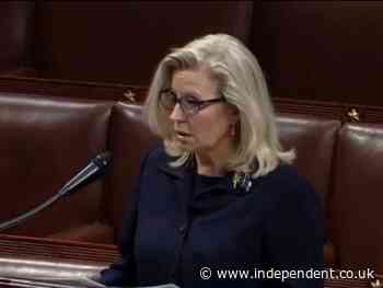 Liz Cheney denounces Trump on eve of GOP vote: 'Ignoring the lie emboldens the liar'