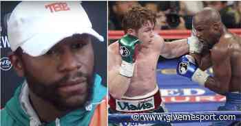 Canelo vs Mayweather: Floyd reacts to Saul Alvarez saying he'd beat him in his prime - GIVEMESPORT